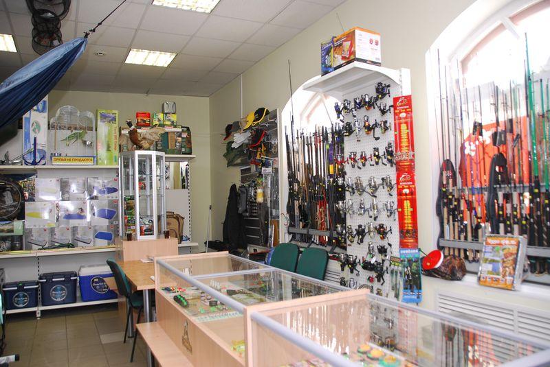 магазин рыболов розничная