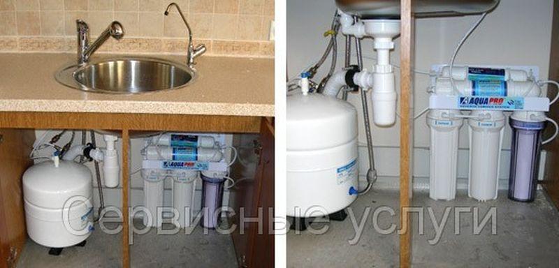 Фильтр для воды под мойку установка своими руками 19