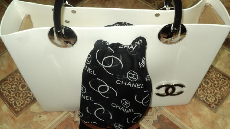 сумка шанель с платком - Сумки 27 авг 2012 ... сумка шанель из каучука.