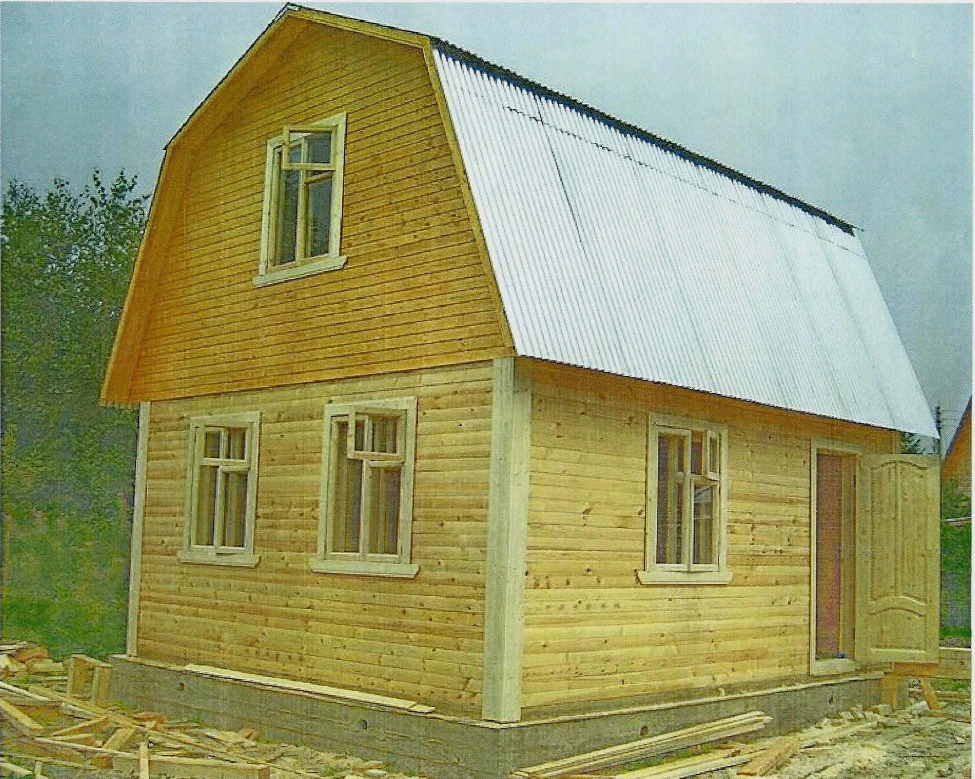 Дом каркасный 17