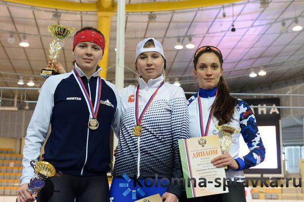 Конькобежец изИркутска занял 3-е место начемпионате РФ