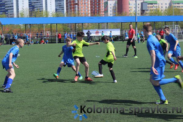 Неменее 50 команд изПодмосковья примут участие вовсероссийском детском футбольном турнире